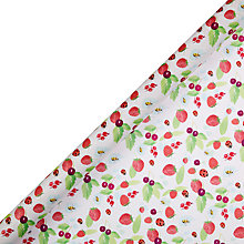 Buy John Lewis Forest Fruits Gift Wrap, 3m Online at johnlewis.com