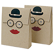 Buy Meri Meri All Wrapped Up Bowler Hat Envelope Bags, Pack of 2 Online at johnlewis.com