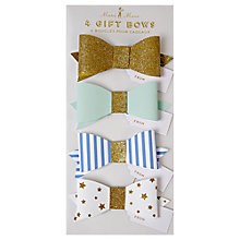 Buy Meri Meri Toot Sweet Bows, Pack of 4 Online at johnlewis.com