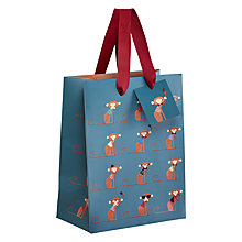 Buy Art File Call Me Frank Monkey Bag, Medium Online at johnlewis.com