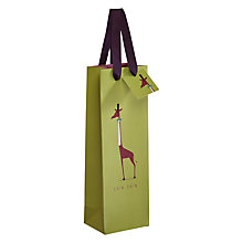 Buy Call Me Frank Giraffe Bottle Gift Bag Online at johnlewis.com