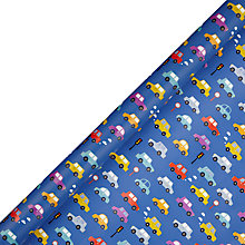 Buy John Lewis Cars Gift Wrap, 3m Online at johnlewis.com
