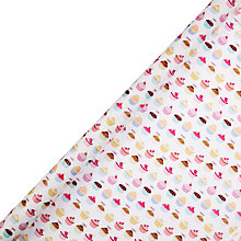 Buy John Lewis Iced Cakes Gift Wrap, 3m Online at johnlewis.com