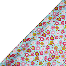 Buy John Lewis Polka Floral Gift Wrap, 3m Online at johnlewis.com