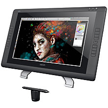 Buy Wacom Cintiq 22HD Touch Creative Pen Display Graphics Tablet and Grip Pen Online at johnlewis.com