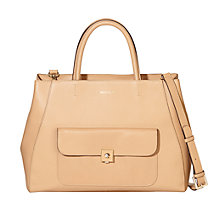 Buy Modalu Verity Leather Shoulder Bag, Tan Online at johnlewis.com