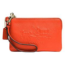 Buy Coach Embossed Signature Leather Wrislet Purse Online at johnlewis.com