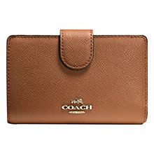 Buy Coach Legacy Medium Zip Around Leather Purse Online at johnlewis.com