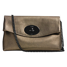 Buy Coach Turnlock Leather Clutch Bag Online at johnlewis.com