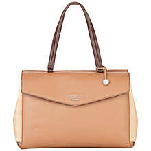 Buy Fiorelli Madison Leather Tote Bag, Mink Online at johnlewis.com
