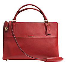 Buy Coach Borough Pebbled Leather Carryall Bag Online at johnlewis.com