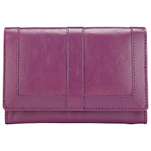 Buy John Lewis Emma Medium Flapover Leather Purse Online at johnlewis.com