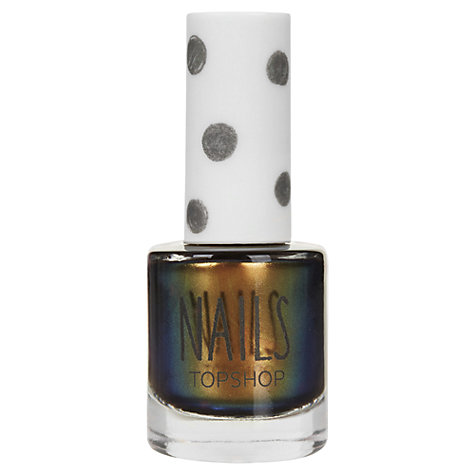Buy TOPSHOP Nails - Metallic Two Tone Online at johnlewis.com