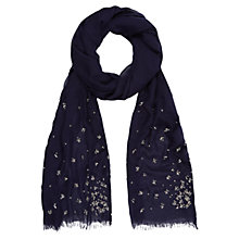 Buy Kaliko Beaded Scarf, Dark Blue Online at johnlewis.com