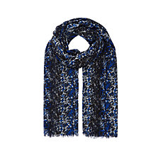 Buy Planet Winter Snake Print Scarf, Multi Dark Online at johnlewis.com