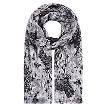 Buy Kaliko Vintage Floral Scarf, Grey Online at johnlewis.com