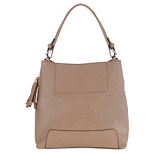 Buy Oasis Holly Hobo Bag, Mid Neutral Online at johnlewis.com