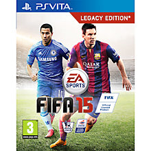 Buy FIFA 15, PS Vita Online at johnlewis.com