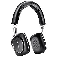 Buy B&W P5 Series 2 On-Ear Headphones, Black Online at johnlewis.com