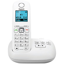 Buy Gigaset A540A Digital Telephone and Answering Machine, Single DECT, White Online at johnlewis.com