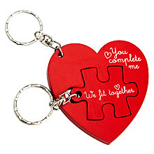 Buy John Lewis Jigsaw Keyrings Online at johnlewis.com