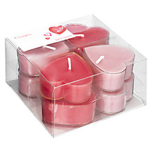 Buy John Lewis Floating Rose-Scented Tealights, Pack of 8 Online at johnlewis.com