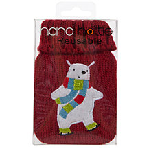 Buy John Lewis Red Polar Bear Handwarmer Online at johnlewis.com
