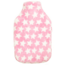 Buy John Lewis Pink Stars Roll Top Hot Water Bottle, 2 Litre Online at johnlewis.com
