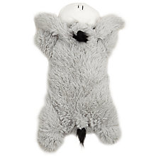 Buy John Lewis Grey Donkey Hot Water Bottle, Grey, 1 Litre Online at johnlewis.com