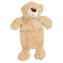 Buy John Lewis Teddy Hot Water Bottle, 1 Litre Online at johnlewis.com
