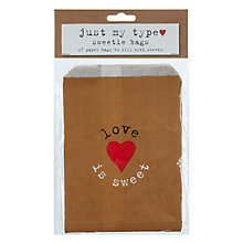 Buy Neviti Just My Type Sweetie Bags, Pack of 25 Online at johnlewis.com