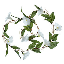 Buy John Lewis Morning Glory Floral Garland, L1.68m Online at johnlewis.com