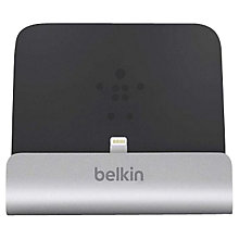 Buy Belkin Express Dock for iPad, iPhone and iPod with Lightning Port Online at johnlewis.com