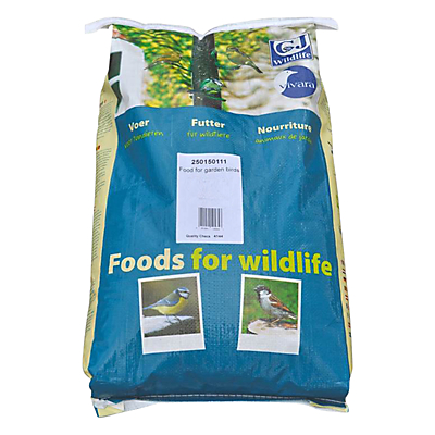 CJ Wildlife Sunflower Hearts Bird Feed 12.75kg