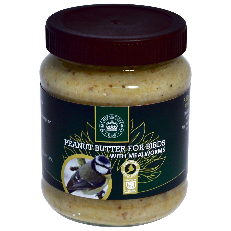 Kew Gardens Peanut Butter Mealworms Bird Feed, 330g