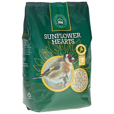 Kew Gardens Sunflower Hearts Bird Feed 2kg