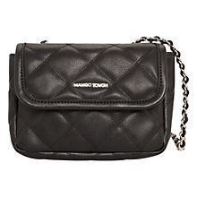Buy Mango Quilted Mini Cross Body Bag Online at johnlewis.com