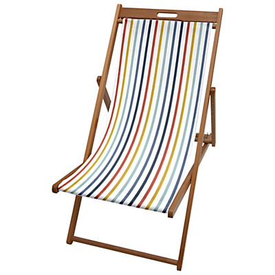 John Lewis Summer Stripe Deck Chair Sling