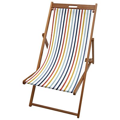 John Lewis Summer Stripe Deck Chair Sling