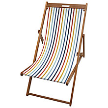 Buy John Lewis Summer Stripe Deck Chair Sling Online at johnlewis.com