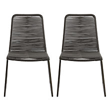Buy John Lewis Espina Outdoor Dining Chairs, Set of 2 Online at johnlewis.com