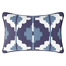 Buy John Lewis Ikat Rectangle Outdoor Scatter Cushion Online at johnlewis.com