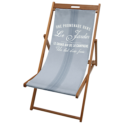 John Lewis Blue Stripe Deck Chair Sling