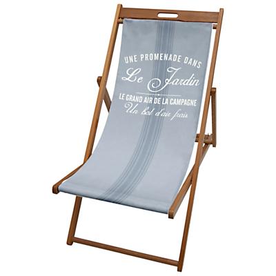 John Lewis Mason Stripe Pacific Deck Chair Sling