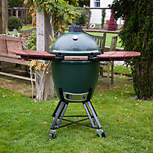 Buy Big Green Egg Large Barbecue with Shelves and Charcoal Online at johnlewis.com