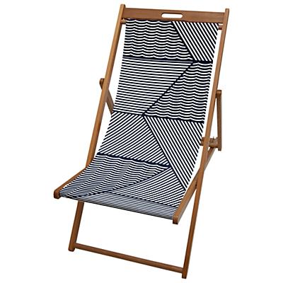 John Lewis Geometric Deck Chair Sling