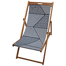 Buy John Lewis Geometric Deck Chair Sling Online at johnlewis.com