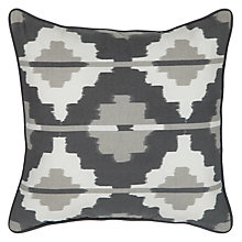 Buy John Lewis Ikat Square Outdoor Scatter Cushion Online at johnlewis.com