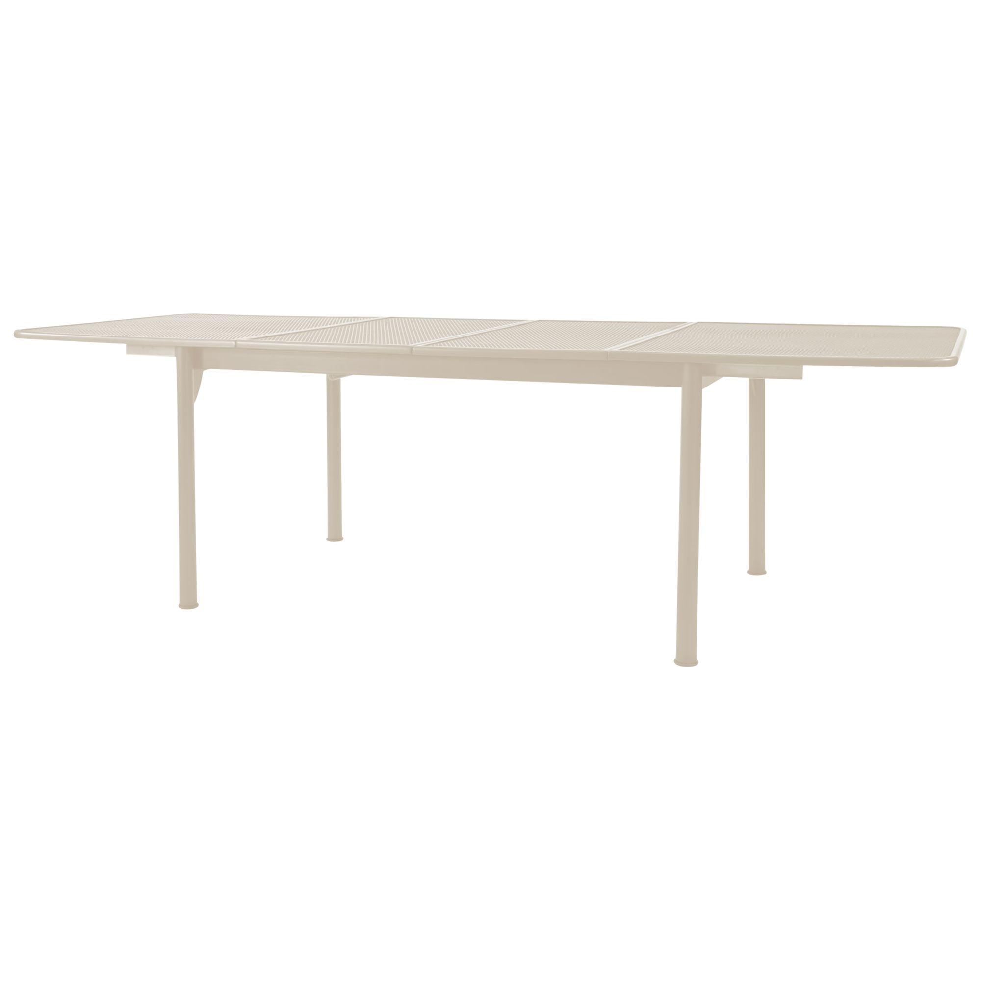 John Lewis Henley by KETTLER John Lewis Henley by KETTLER Rectangular 6-8 Seater Extending Outdoor Dining Table