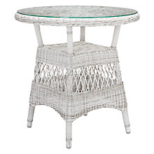 Buy John Lewis Hera 2-Seat Wicker Table Online at johnlewis.com